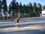 Inlinesträning bilprovningen Falun 1 maj 2012
