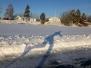 Skridsko på Ösjön 16 januari 2016