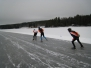Skridskotur Runn och Ösjön 6 januari 2013