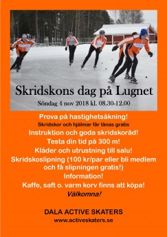 Skridskons dag 20181104