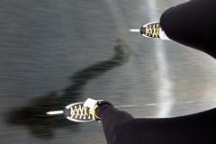 Skridsko på Runn 30 januari 2016