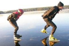 Spegelblank Runn 16 december 2007