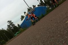 Tisdagsträning bilprovningen 14 augusti 2012