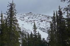 Toppbestigning av Hovärken (1125 möh) 20 mars 2016